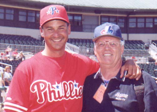Photo of Terry Francona & Claude Raymond